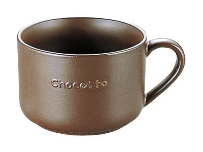 チョコット 耐熱マグカップ ブラウン