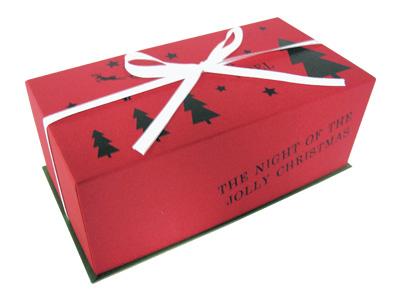 クリスマス ギフトBOX(リボン付)