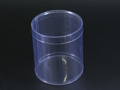 PET円筒ケース 80径×H90mm フタ付
