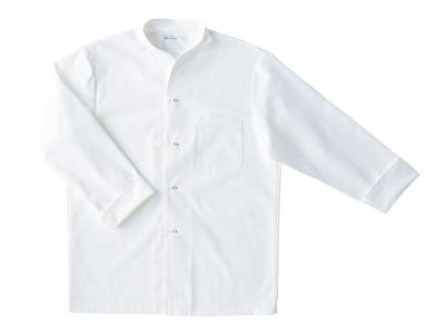 長袖調理シャツ 2-341 (白) L