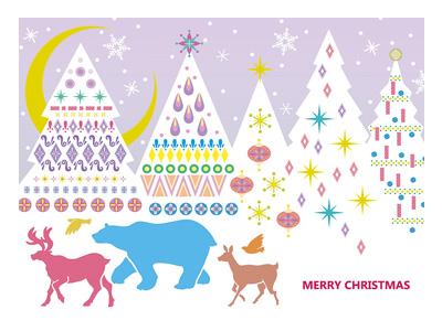 クリスマスカード S300-52