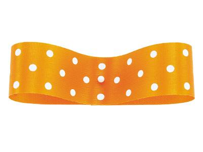 EX 水玉 73 オレンジ 22mm