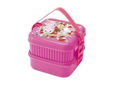 ジュエルペット(イチゴ)2段ピクニックボックス