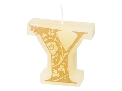 イニシャルキャンドル(Y)