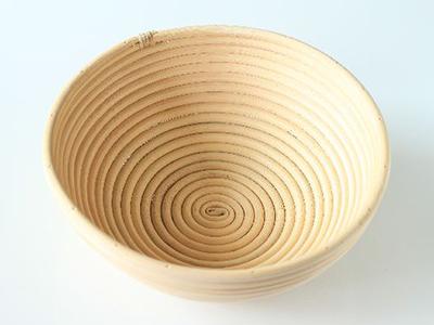 籐製発酵カゴ 丸型(径24)