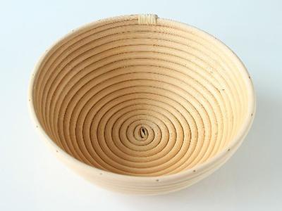 籐製発酵カゴ 丸型(径22)