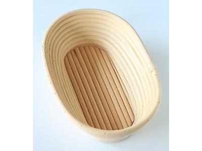 籐製発酵カゴ 小判型 大