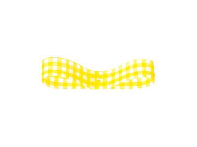 コットンギンガム 黄色