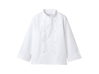 児童用コックコート PER601-2(白) 140cm