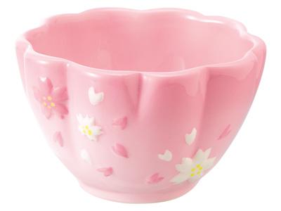 さくら花型グラデーションカップ