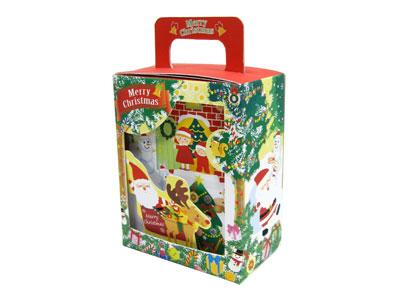 3DクリスマスBOX(赤)