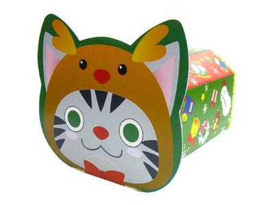 クリスマスギフト箱 ノリノリBOX ネコ
