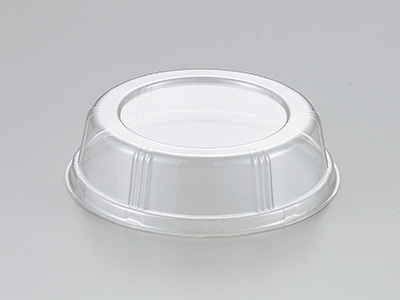 F-AMC ミニカップ用PET蓋 (透明)