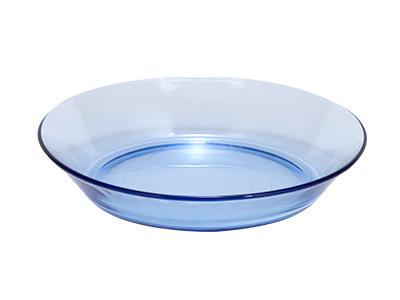 デュラレックス LYS マリンブルー 深皿19cm
