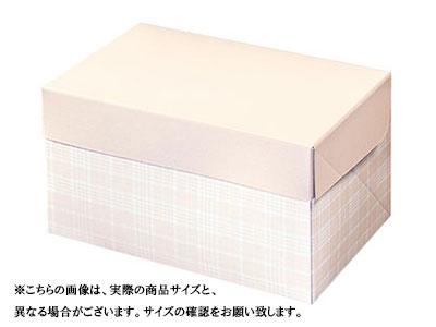 ケーキ箱 スライドオープンボックス105 タータンチェック 10.5×15