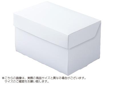 ケーキ箱 CP105-ホワイト 6×8