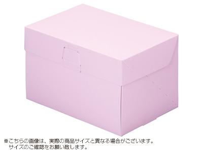 ケーキ箱 ロックBOX 105-ピンク 5×7