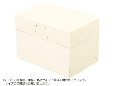 ケーキ箱 ロックBOX 105-アイボリー 6×8