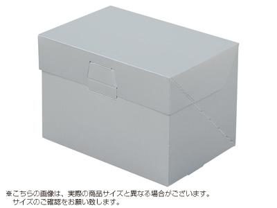ケーキ箱 ロックBOX 105-シルバー 6×8