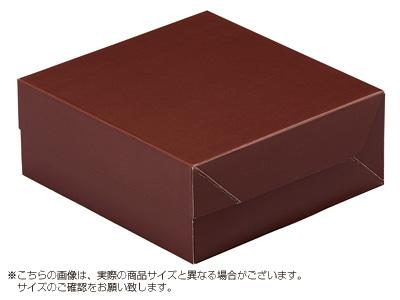 ケーキ箱 ロックBOX 65-ブラウン 140(トレーなし)