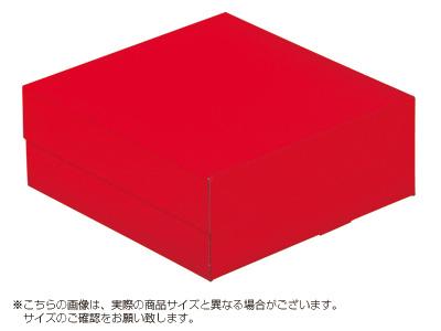 ケーキ箱 ロックBOX 65-レッド 140