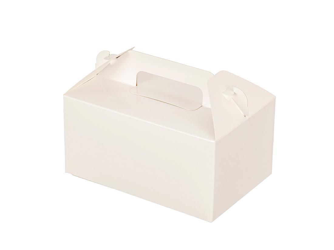 ケーキ箱 HBホワイトP 4×6