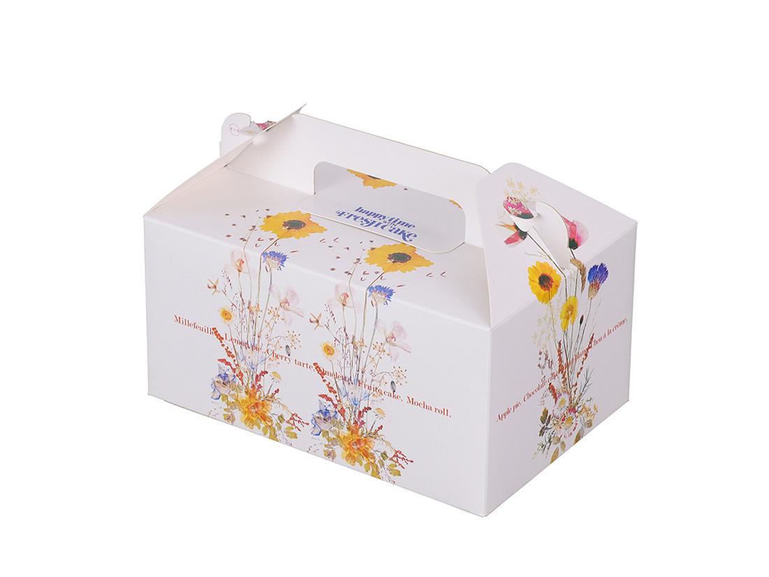 ケーキ箱 HBグラース 4×6
