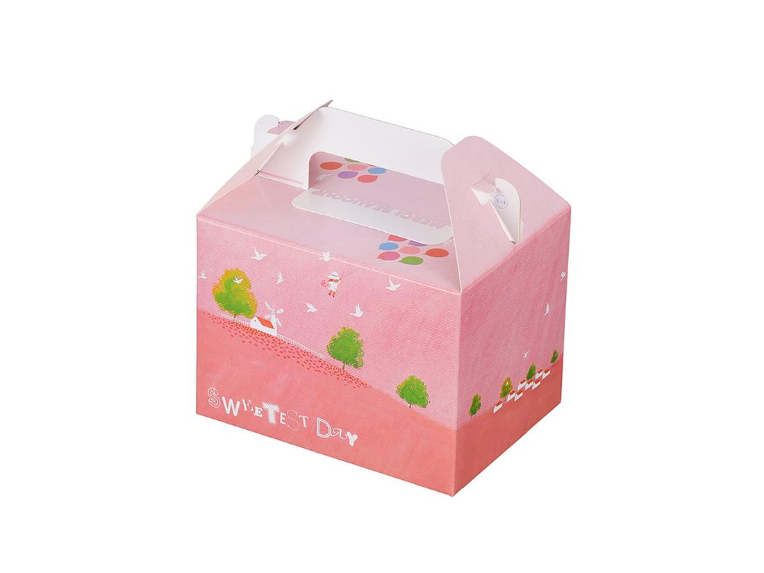 ケーキ箱 HB風船 3×4