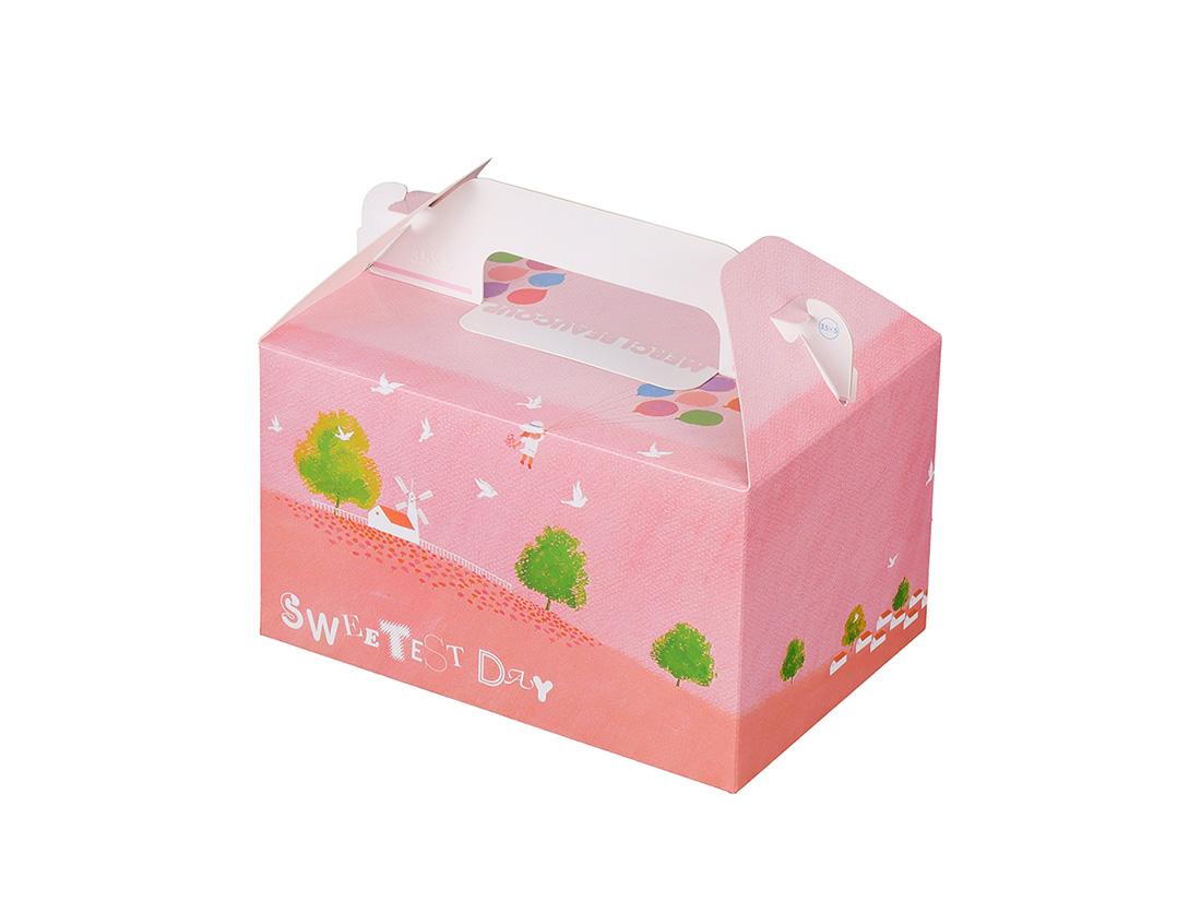 ケーキ箱 HB風船 3.5×5