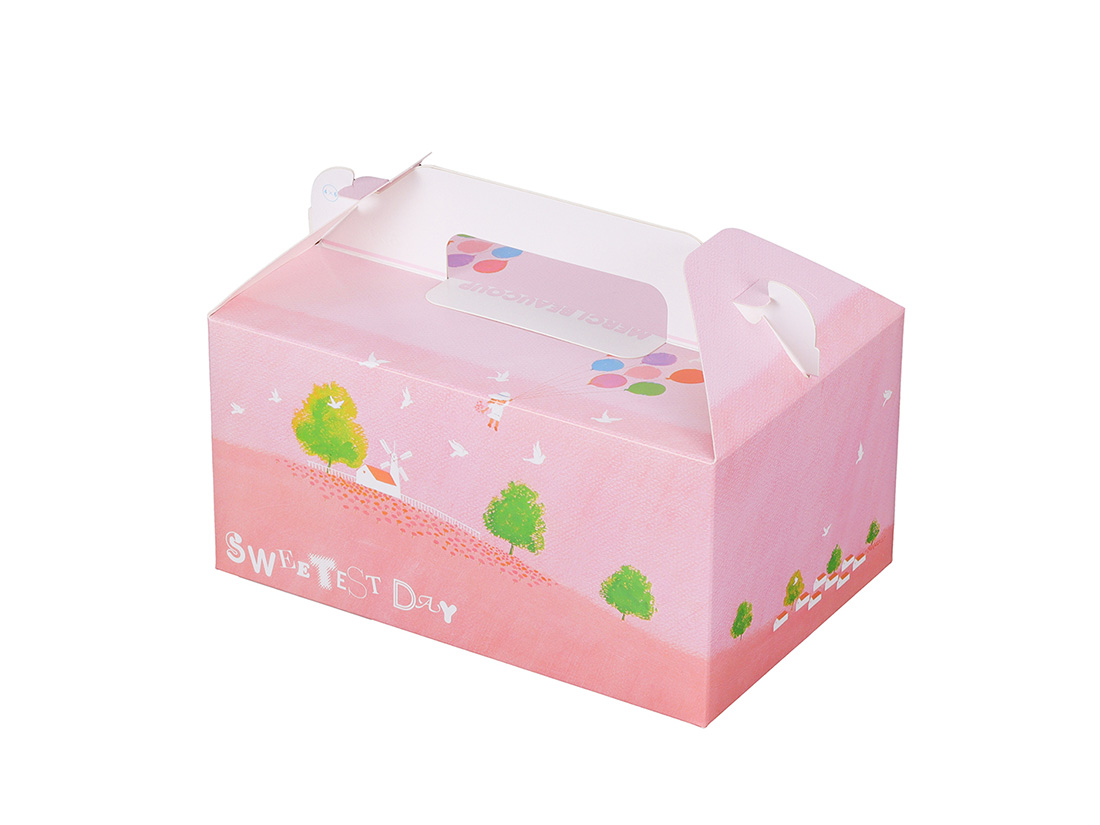 ケーキ箱 HB風船 4×6