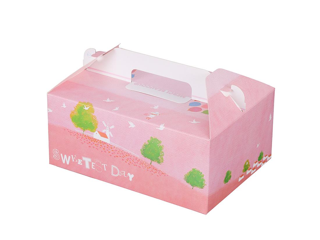 ケーキ箱 HB風船 5×7