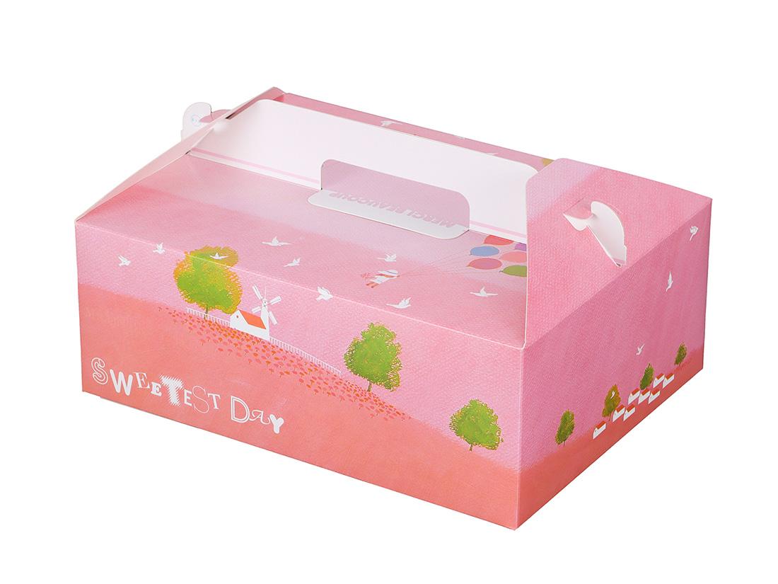 ケーキ箱 HB風船 6×8