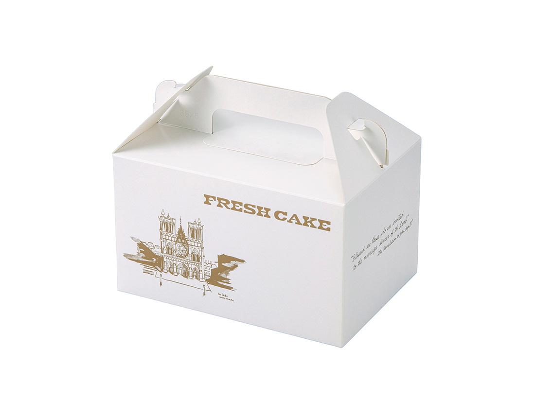 ケーキ箱 HBフレッシュ No.2(3.5×5)