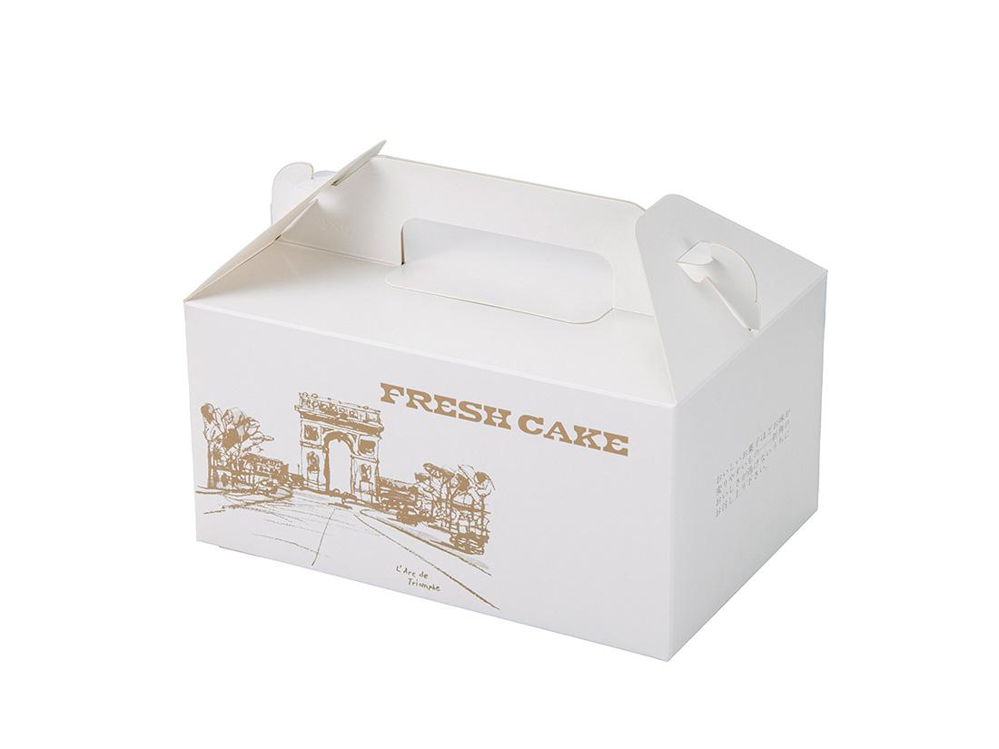 ケーキ箱 HBフレッシュ No.3(4×6)