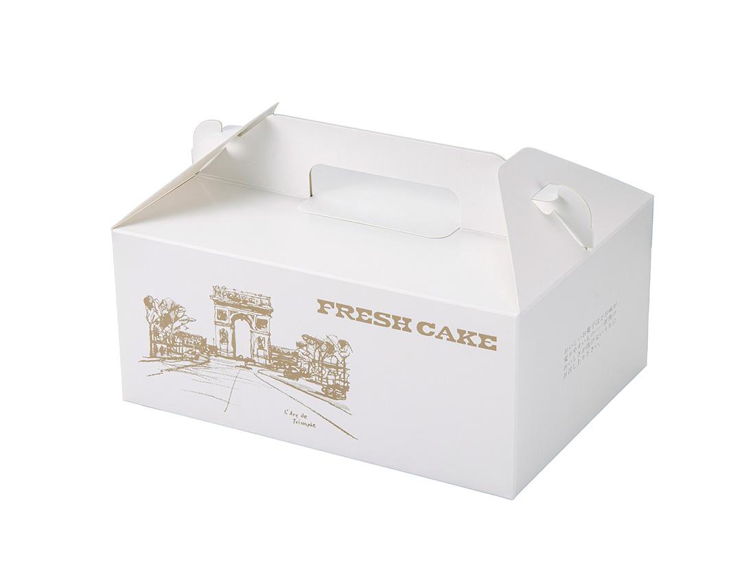 ケーキ箱 HBフレッシュ No.4(5×7)