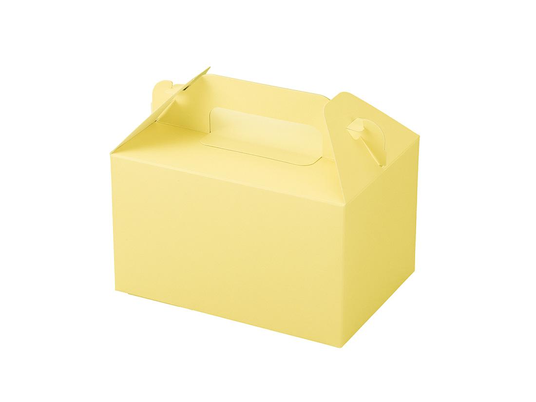 ケーキ箱 カラーHB クリーム 3.5×5
