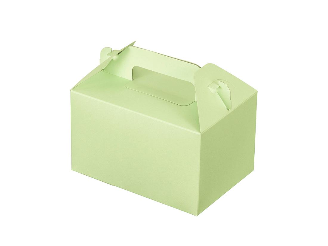 ケーキ箱 カラーHB グリーン 3.5×5