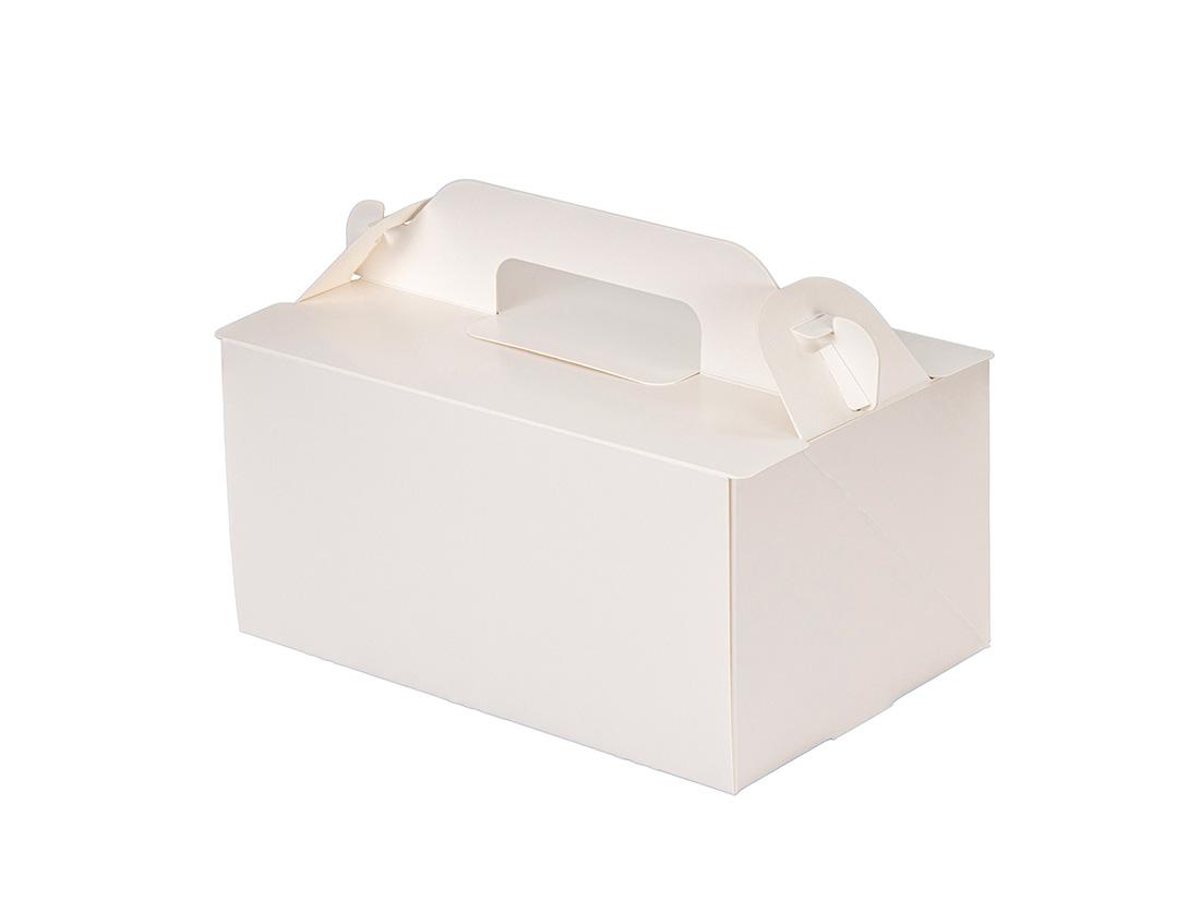 ケーキ箱 OPL-ホワイト 4×6