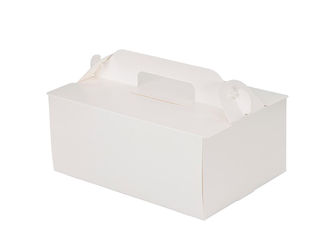 ケーキ箱 OPL-ホワイト 5×7