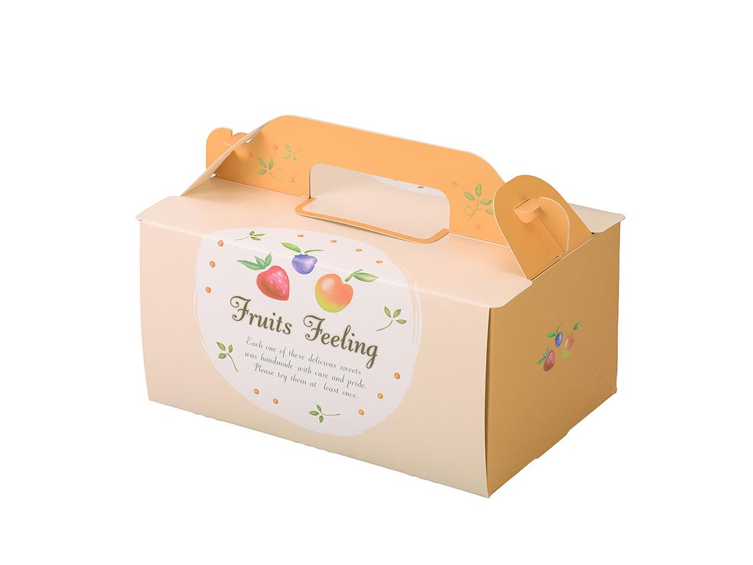 ケーキ箱 OPL-フルーツ 4×6