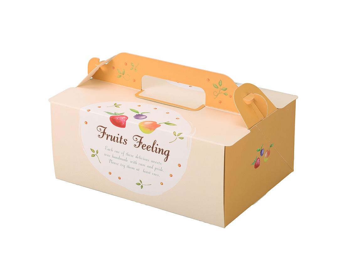ケーキ箱 OPL-フルーツ 5×7