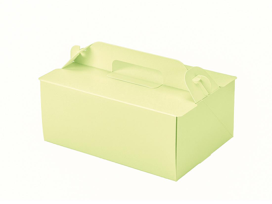 ケーキ箱 OPL-ライム 5×7