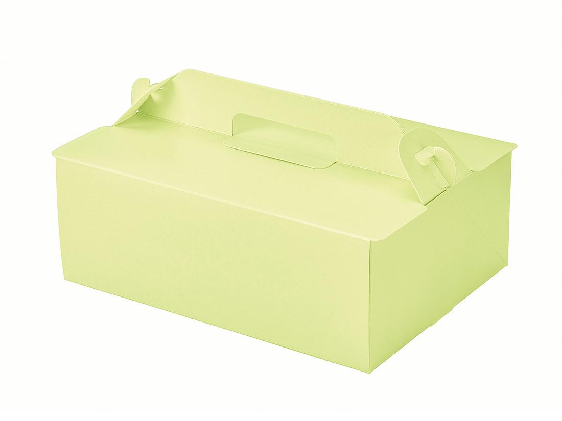 ケーキ箱 OPL-ライム 6×8