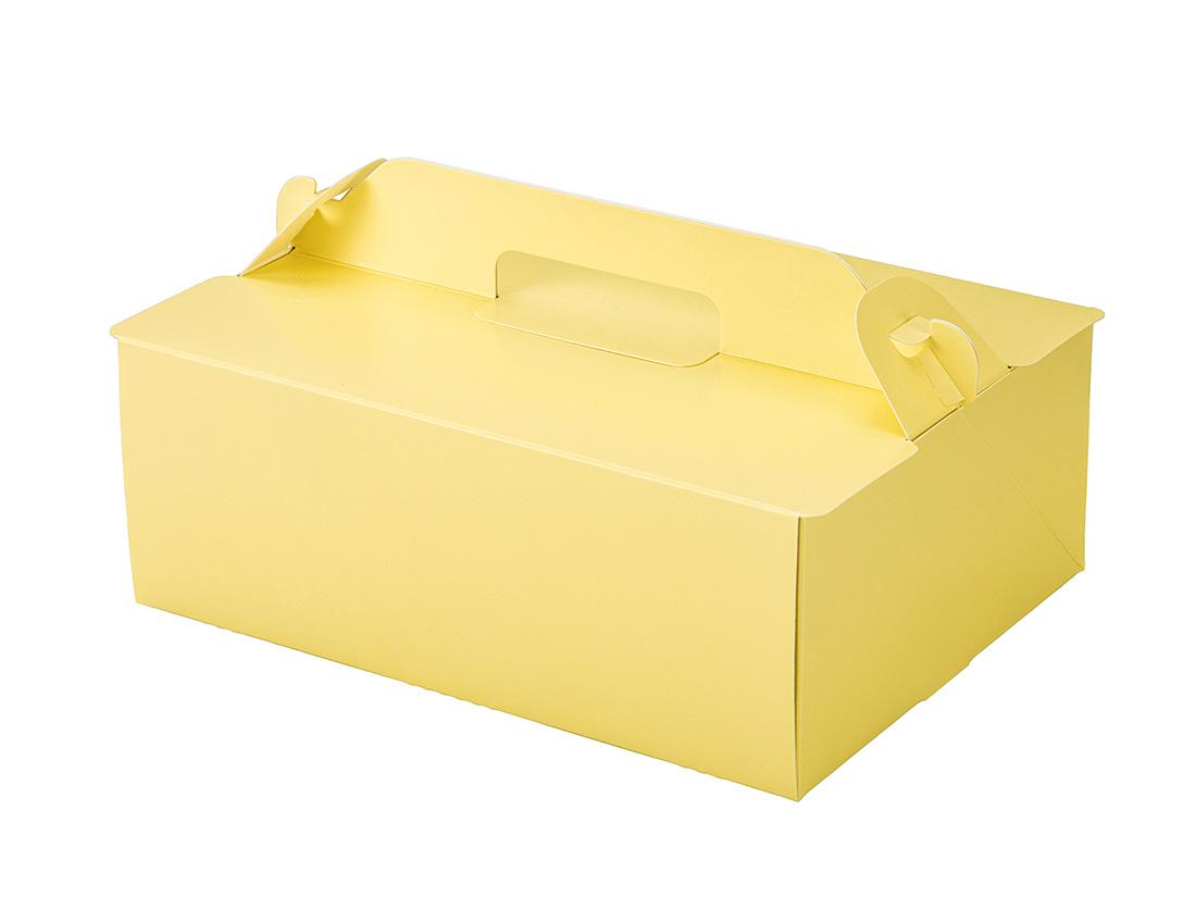 ケーキ箱 OPL-レモン 6×8