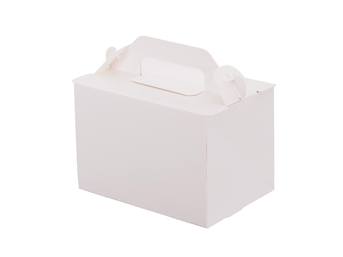 ケーキ箱 105OPL-ホワイト 3.5×5