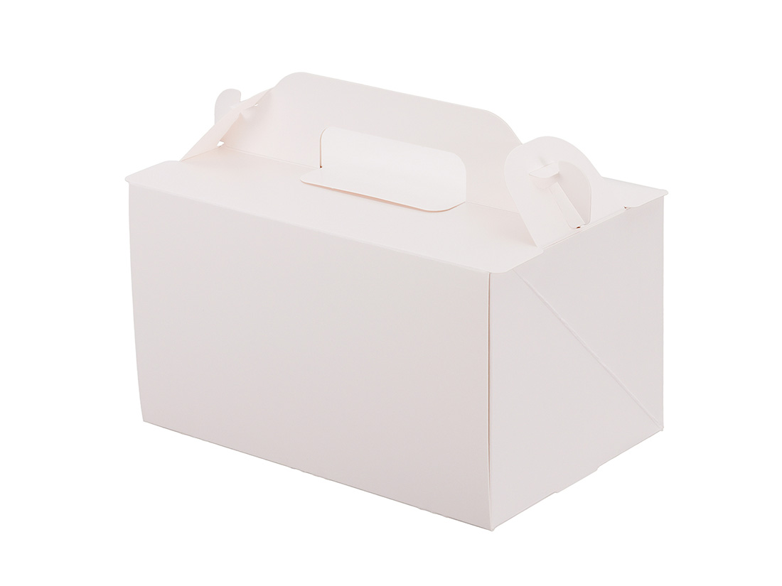 ケーキ箱 105OPL-ホワイト 4×6