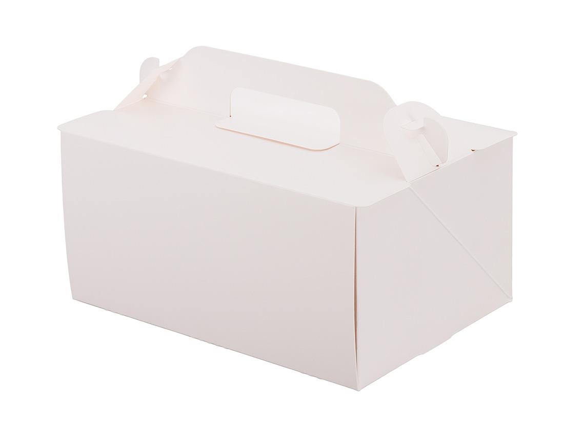 ケーキ箱 105OPL-ホワイト 5×7