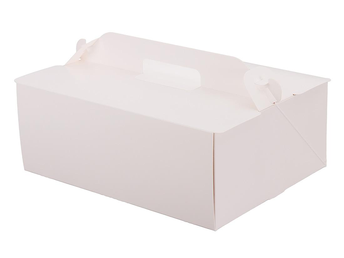 ケーキ箱 105OPL-ホワイト 7×9