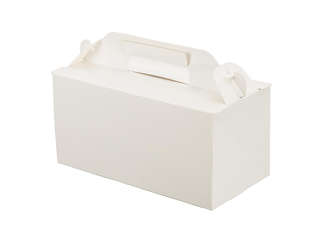 ケーキ箱 105OPL-ホワイト 3.5×7