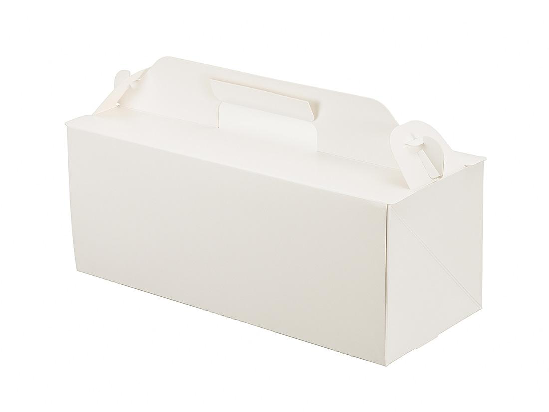 ケーキ箱 105OPL-ホワイト 3.5×8.5
